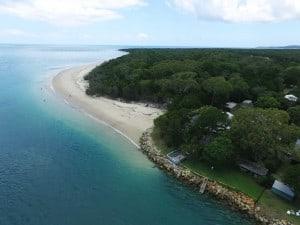 Shoreline Erosion impacting Amity Point by Rodney Wiley